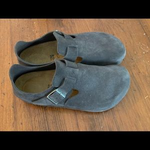 Birkenstock London Suede Shoes.  SZ 39M